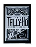 Tally-Ho Viper Fan-Back Deck Black Silve...