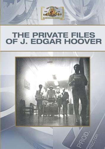 The Private Files Of J. Edgar Hoover by Broderick Crawford