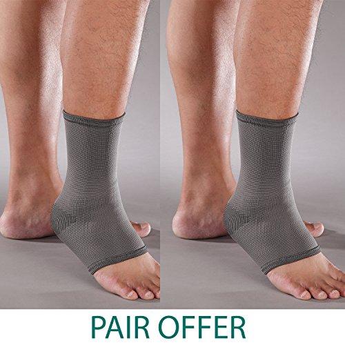 Solace Care Carbone di bambù Ankle Support (Coppia)-Supporto per caviglia