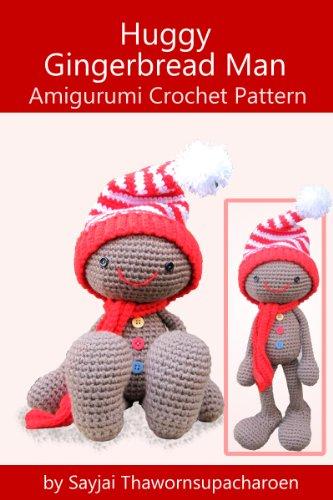 huggy-gingerbread-man-amigurumi-crochet-pattern-huggy-christmas-dolls-book-1-english-edition