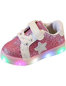 URSING_Babyschuhe Zum 1-6 Jahre Alt Ursing Baby Unisex Junge Mädchen Prinz Prinzessin Mode Star Glühend Sneaker...