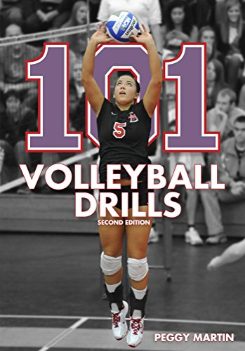 101 Volleyball Drills (English Edition) por Peggy Martin