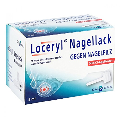Loceryl Nagellack gegen Nagelpilz Direkt-applikat. 5 ml