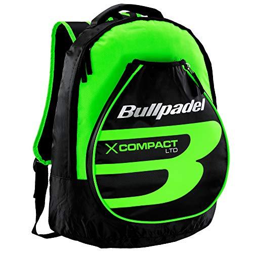Mochila Bullpadel X-Compact Verde Flúor