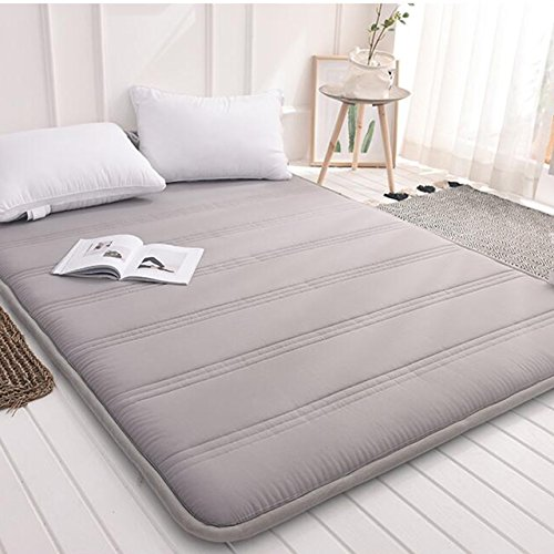 Yellow star Faltbare Queen-Size matratze,Tatami Boden Matte tragbare pad wohnheim futon matratze Topper Gesteppte Bett Schutz isomatte-B 120x200cm(47x79inch) - Baumwolle Queen-size-matratze