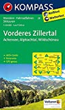 Vorderes Zillertal /Achensee /Alpbachtal /Wildschönau: Wanderkarte mit Aktiv Guide, Panorama, Radwegen und alpinen Skirouten. GPS-genau. 1:50000: Wandelkaart 1:50 000 (KOMPASS-Wanderkarten, Band 28)