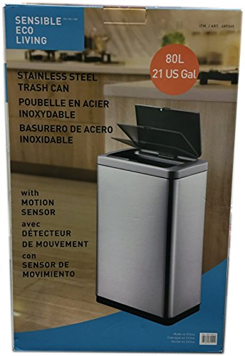sensible-eco-living-80l-hands-free-motion-sensor-large-waste-bin-trash