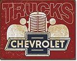 Decoworld Chevrolet Chevy Trucks 40s Metal Sign flat New 31x40cm VS5040-1