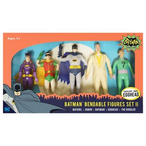 NJ Croce Batman 1966 Biegefiguren 5er-Pack Set II 14 cm