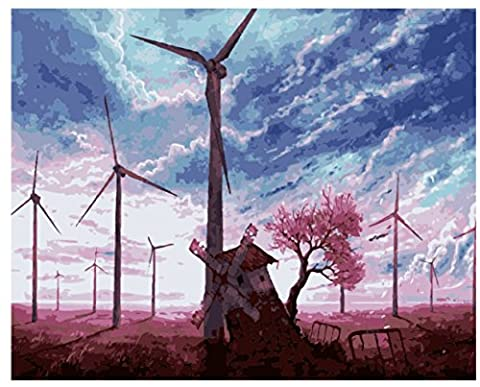 Obella Peinture par numéros Kits issu de la gamme Moulin