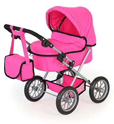 Bayer Diseño Muñeca cochecito de moda (rosa fuerte) por Bayer Design