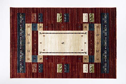 Seiden-schimmer-glanz (BRILLIANCE CLASSIC moderner Designer Teppich in G multicolor, Größe: 200x290 cm)