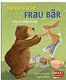 Maxi Herr Hase und Frau B�r feiern Geburtstag (UH365)
