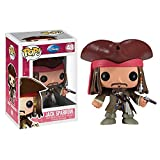 Funko FunkoBOBUGU486 Abysse Vinyl Pirates of The Caribbean 48 Jack Sparrow Pop Figure