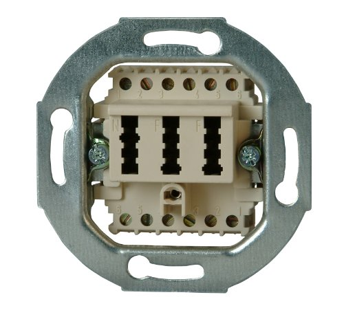 Kopp 33369391 Telefonanschlussdose TAE, NFF-Codierung