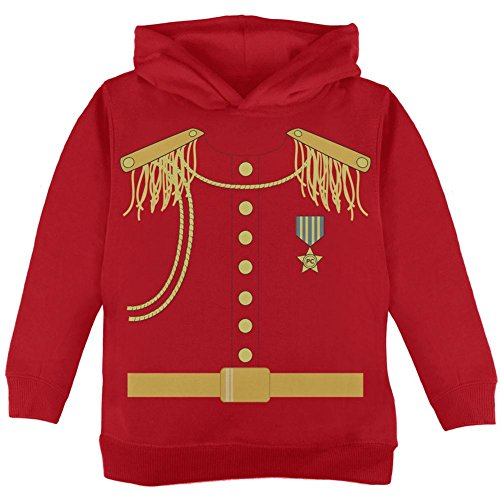 ming Kostüm rot Kleinkind Hoodie - 4 t (Kind Prinz Charming Kostüm)