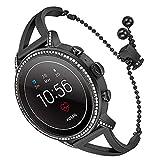 TRUMiRR 18mm de liberación rápida Banda de Reloj de Silicona Caucho Correa de muñeca para Huawei Reloj 1 / Fit Honor S1, ASUS Zenwatch 2 Mujeres 1.45 '' WI502Q, Withings Activite/Pop/Acero HR 36mm