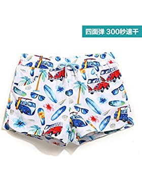 HAIYOUVK Seaside Vacation Stretch Beach Shorts Male Quick-Drying Loose Men'S Boxer Swimsuit Hot Spring Swimsuit...