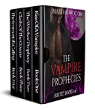 The Vampire Prophecies (Paranormal Vampire Romance): Books 1-4