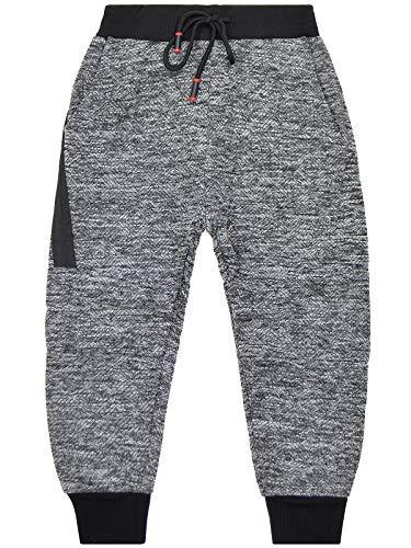 BEZLIT Kinder Jungen Jogging Sport-Hose Freizeithose Trainings Hosen 22901 Grau 158