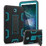 XIQI Galaxy Tab A 8.0 Case Three Layer Hybrid Rugged Heavy Duty Shockproof Anti-Slip Case Full Body Protection Cover For Samsung Galaxy Tab A 8.0 Inch