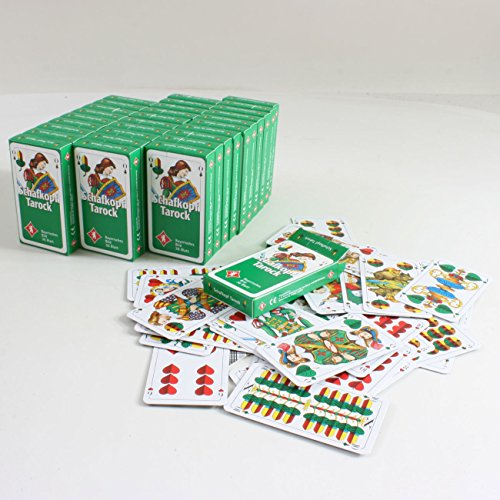 30 Pack Schafkopf-/Spielkarten mit je 36 Blatt mit Bayrischem Bild