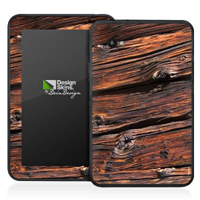 Samsung Galaxy 7.0 PlusN Aufkleber Schutz Folie Design Sticker Skin Verwitterte Holzplanken Holz Look Holzboden