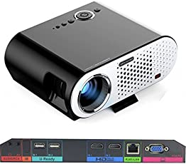 Vivibright Portable Video Projector GP90 UP 3200 Lumens Wireless Projector with Android Operating System 4.42 Multimedia HD Home Cinema Theater
