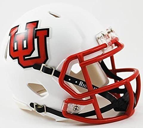 Utah Utes Throwback Speed Mini Helmet - 2015 by