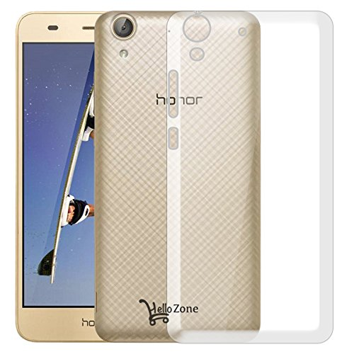Hello Zone Exclusive Soft Transparent Crystal Clear Back Cover Back Case Cover For Huawei Honor Holly 3