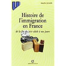 Histoire de l'immigration en France: de la fin du XIXe siècle à nos jours
