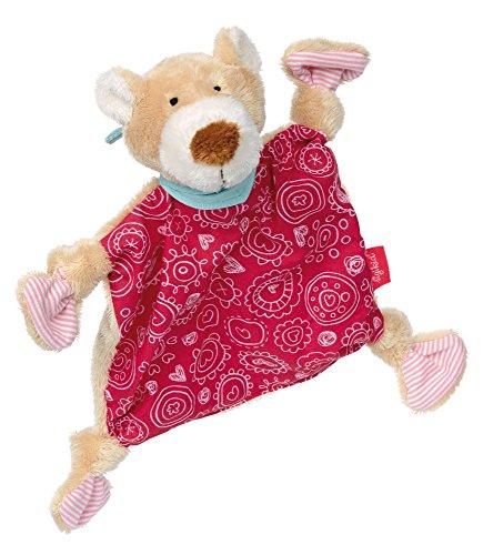 sigikid, Mädchen, Schnuffeltuch Bär, Bellarella, Rosa, 38736 (Tröster Baumwoll-jersey)