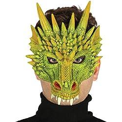 Guirca - Careta foam máscara dragón, Talla única (2414.0)