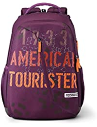 American Tourister Dune 29 Ltrs Magenta Casual Backpack (Fi1 (0) 90 001)