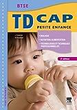 TD CAP Petite enfance Biologie, nutirtion-alimentation, technologies et techniques professionnelles