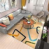 carpet Waschbar Waschbar Haltbar Teppich Super-Qualität Soft Lounge Modern Schlafzimmer Shop Couchtisch Schlafsofa Home Wohnzimmer Slip Nicht Reizende Teppich Home Daily, 120 * 170 cm