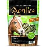 Monties Pferdeleckerlis, Minze-Sticks, Gepresst, Größe ca. 4 cm Durchschnitt, Knabber-Sticks, 700 g