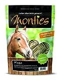 Monties Pferdeleckerlis, Minze-Sticks, Gepresst, Größe ca. 4,5 cm Durchmesser, Knabber-Sticks, 700 g