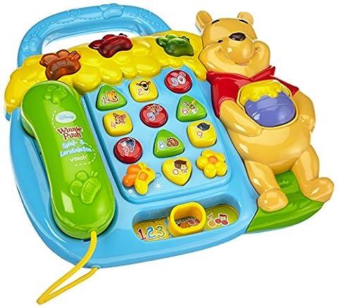 Telephone Vtech - VTech Bébé 80-114204 - Winnie l'Ourson jeu