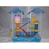 Hamster Cage (Blue)