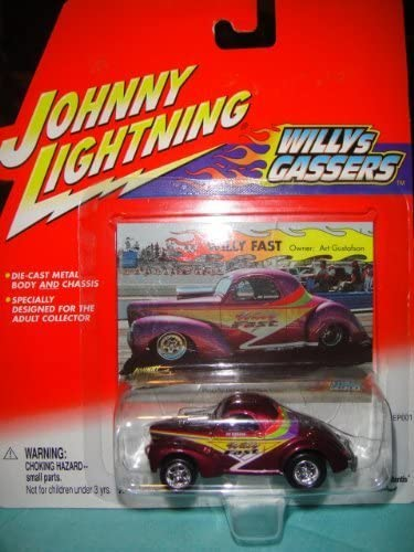 Johnny Lightning Willys Gassers Willy Fast Owner: Art Gustafson by Playing Femmetis | Le Moins Cher