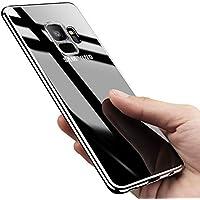 Funda Samsung Galaxy S9, KKtick Galaxy S9 Protectora Carcasa Ultra Slim Anti-Rasguño y Resistente Silicona Cover Case para Galaxy S9 - plata