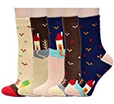 Women Bed Socks Thick Casual Novelty Thermal Wool Socks - Perfect Comfort and Warmth