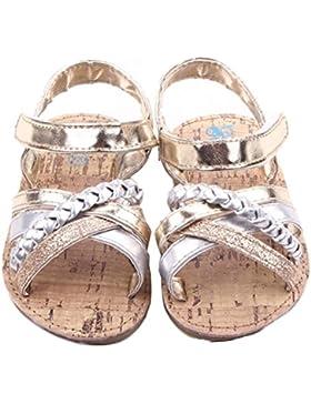 Culater Baby Mädchen Draußen Sandalen Kleinkind Prinzessin Zuerst Walkers Schuhe