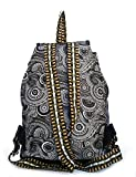 #9: Darash Fashion Women's Stylish Handbag Backpacks Black Print-Bag-173