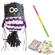 Box Piñata Gufo + sorprese + bastone