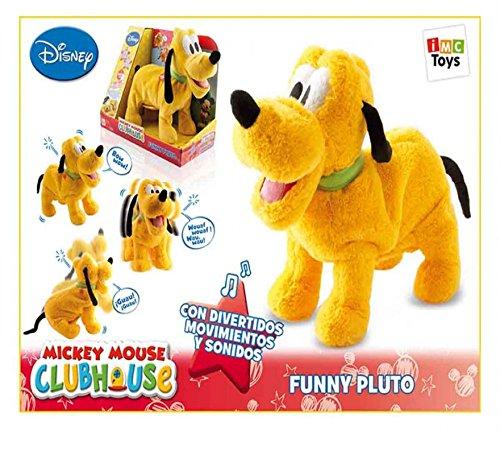 IMC Toys Peluche Pluto Funny con Sonidos Y Movimientos