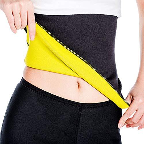 Leezo Unisex Hot Body Shaper Heißer Abnehmen Gürtel Taille Trimmer Sauna Gürtel für Männer Frauen Neopren Schweiß Schlanker Gürtel (Für Taille Shaper Abnehmen Frauen)