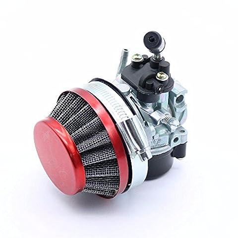 Racing Carburateur Carb filtre à air jets Assy 50cc–80cc 2temps motorisé Bike