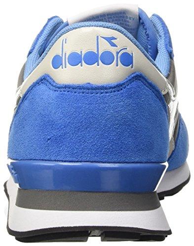 Diadora Unisex-Erwachsene Camaro Pumps Mehrfarbig (Blu Azzurro/Grigio Acciaio)